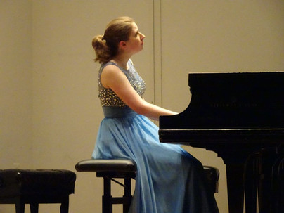 Performing at Peabody Conservatory