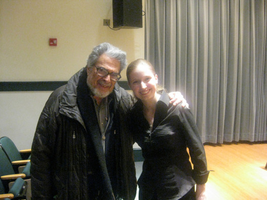 With mentor Leon Fleisher