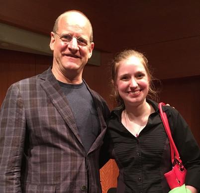 With Lowell Liebermann