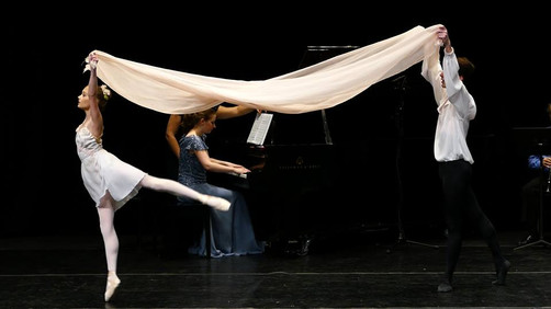Premiere of Butterfly Whisper for the Academy of International Ballet ft. Choreograpy by Denis Gronastayskiy