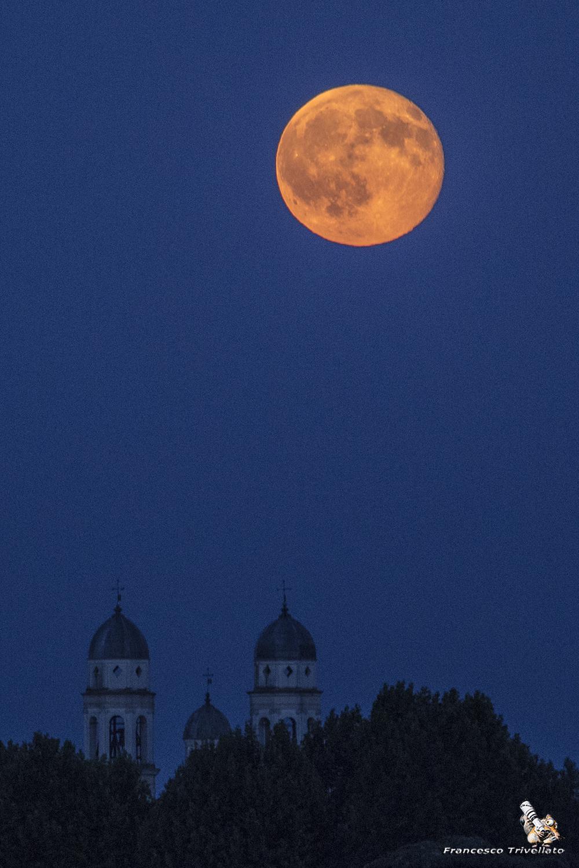 Chiesa della Salute, notturna