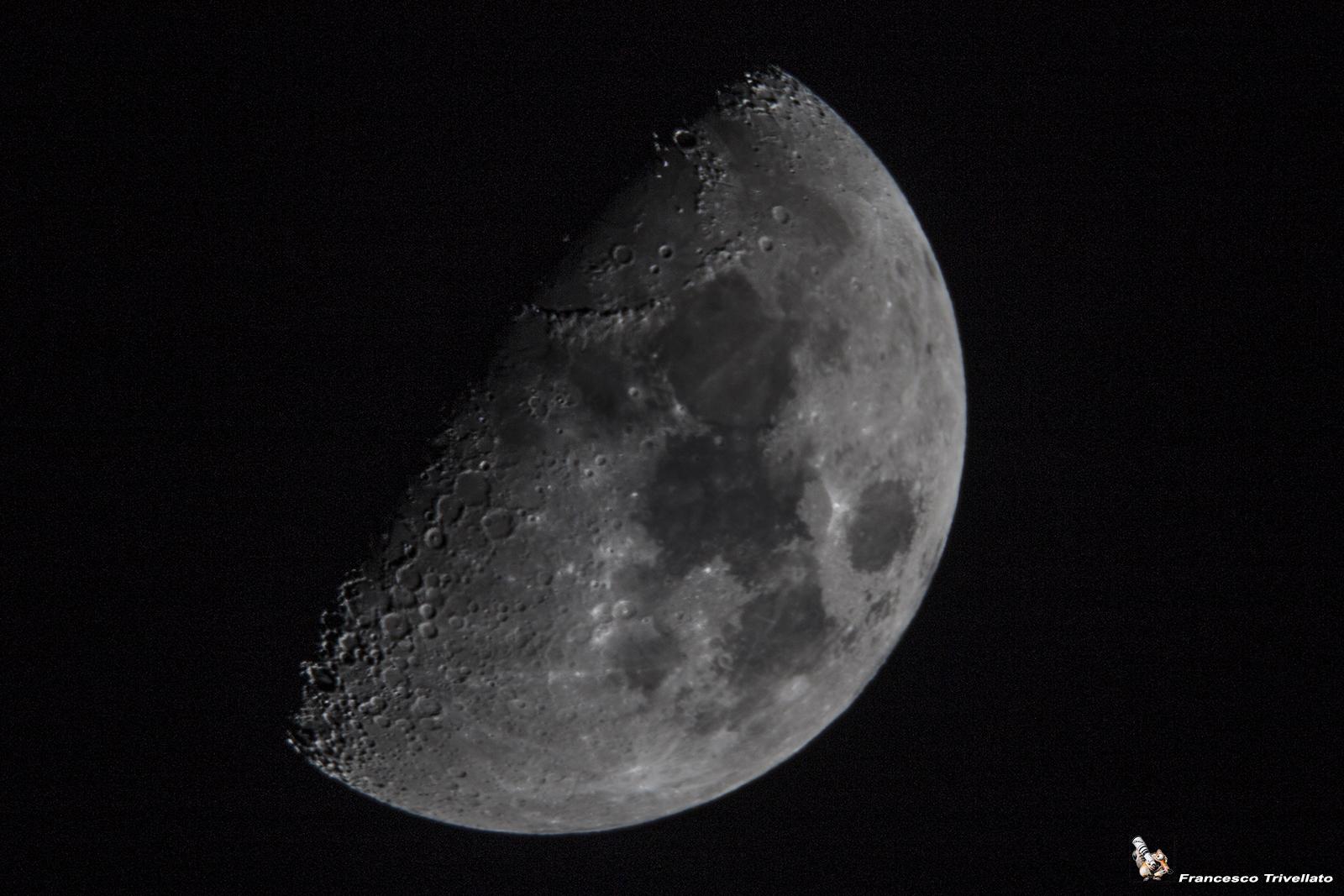 Luna, primo quarto
