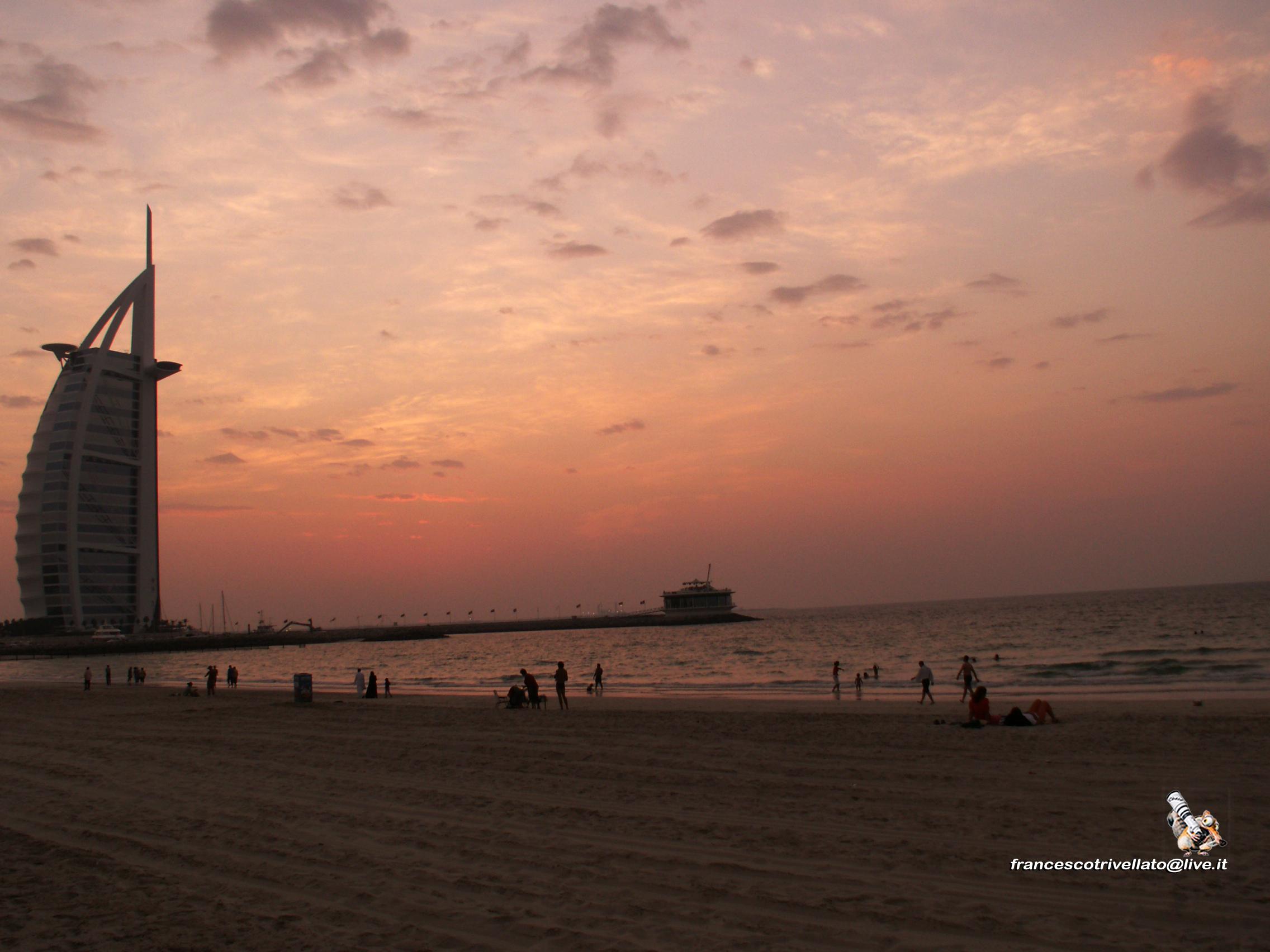 Dubai, spiaggia