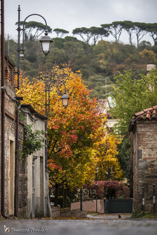 Este, autunno. Via Sabina