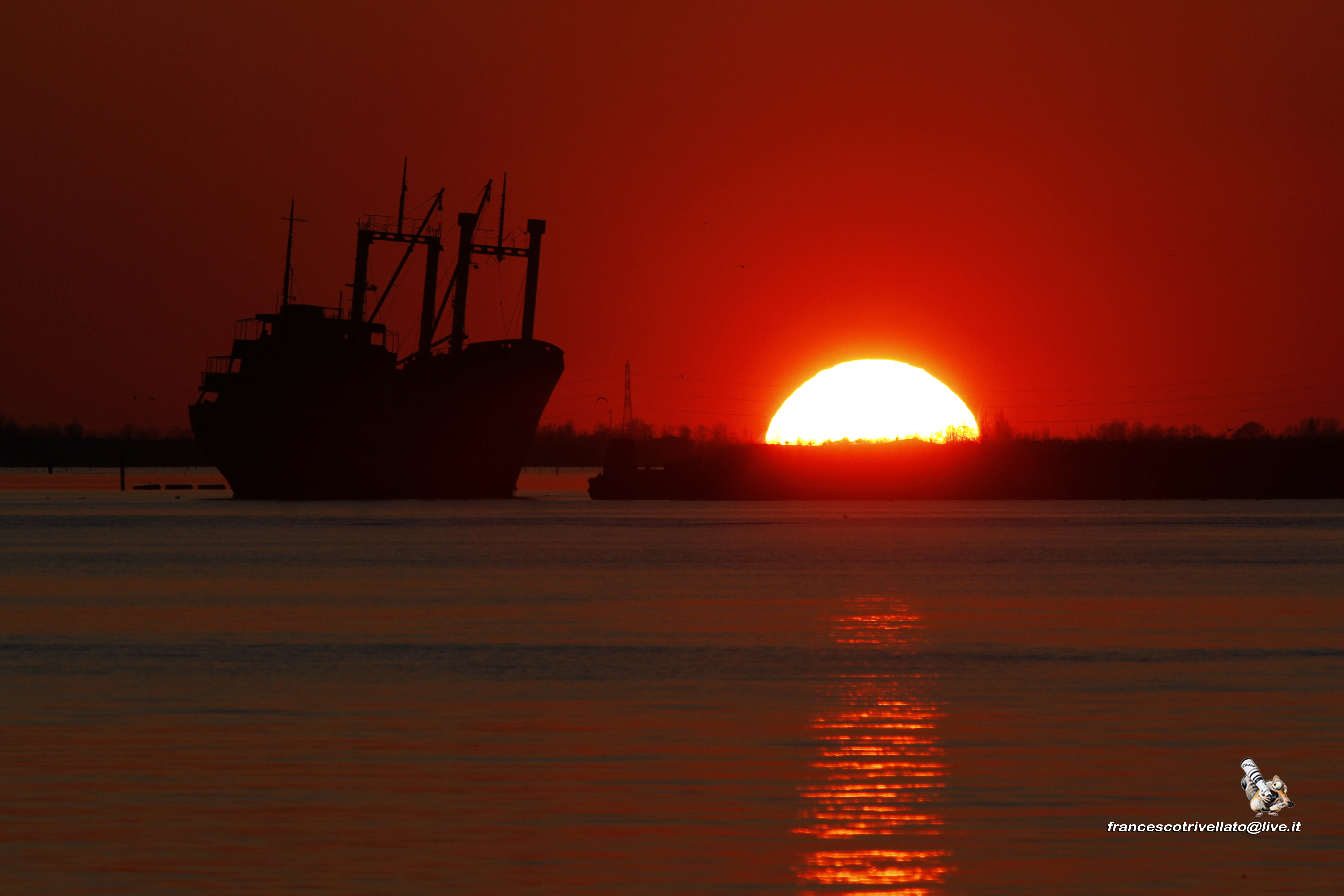 Sottomarina  al tramonto