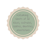 Welcoming of clients of all races, cultures, abilities, identities, orientations