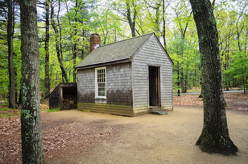 Walden Cabin-Vonnegut Thoreau Constructi