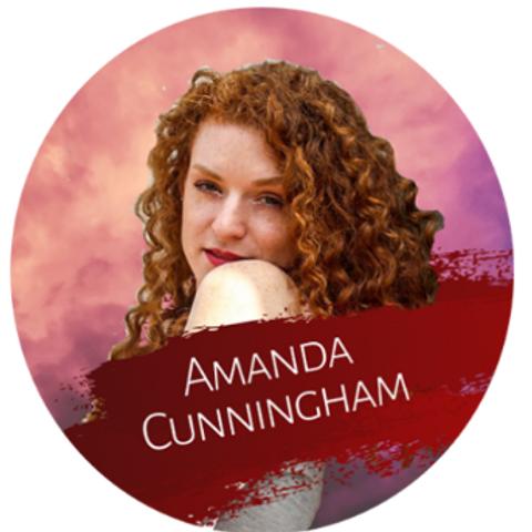 Amanda Cunningham Sticker