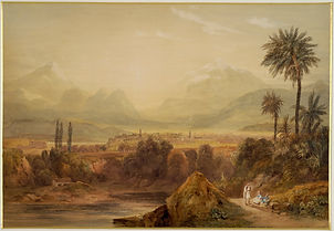 Williams_Hugh_William_-_View_of_Thebes_-