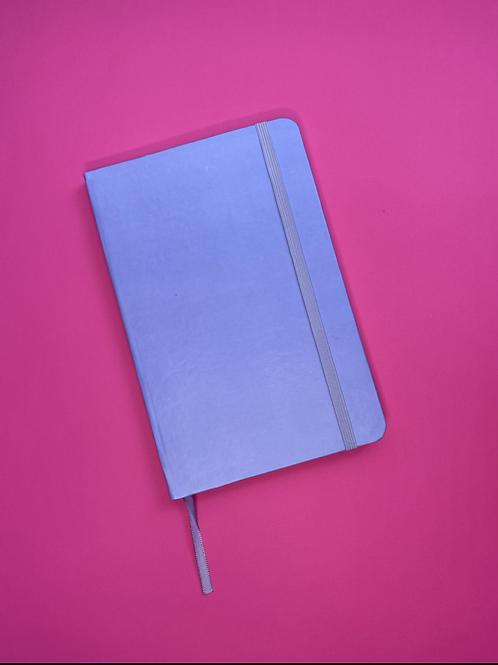 Caderno pontilhado ROXO