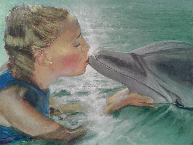 Kissin Dolphin