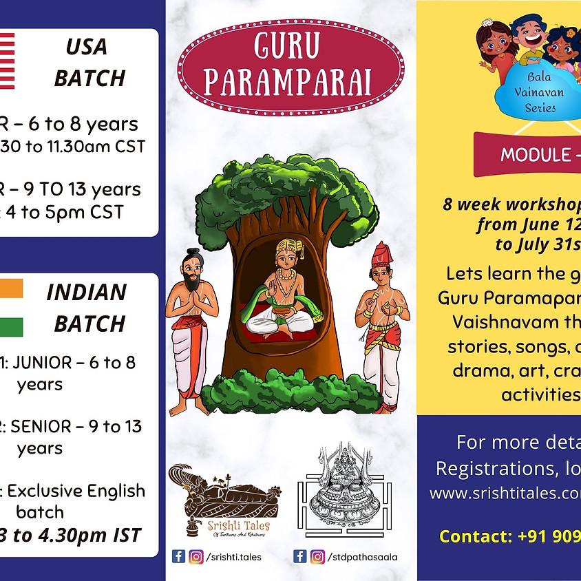 Guru Paramparai - Module 2