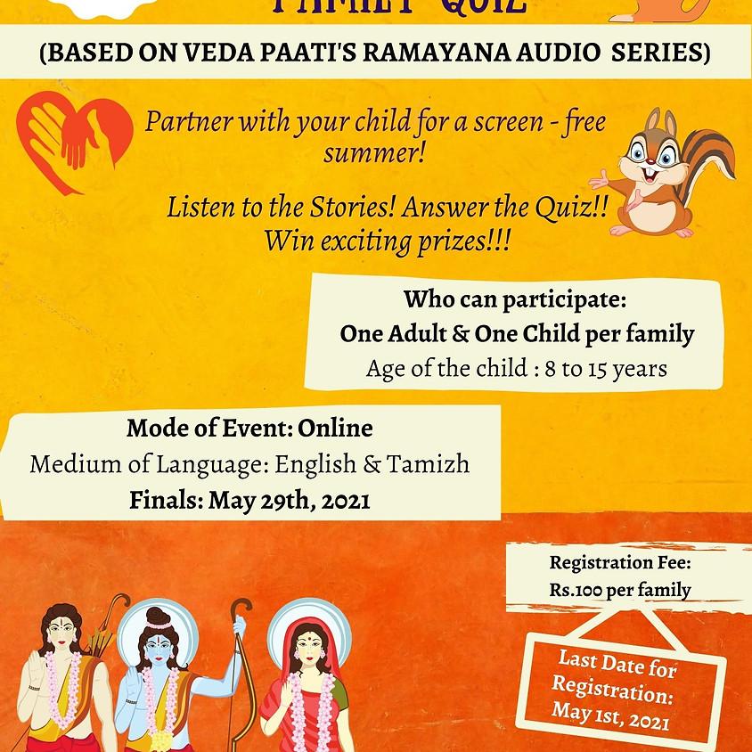 The Ramayana Family Quiz
