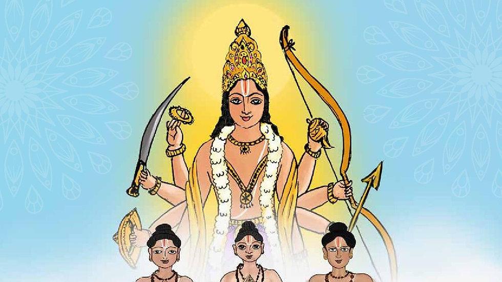 Mudhal Azhwargal - The Divine Trio