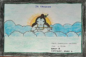 S.Akhilesh Krishna_Group B_Grade 2_Drawi