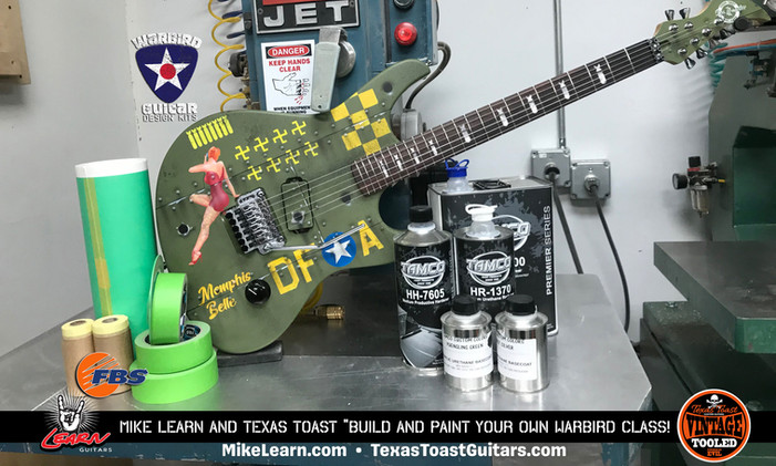 TTG & Learn Guitars Warbird