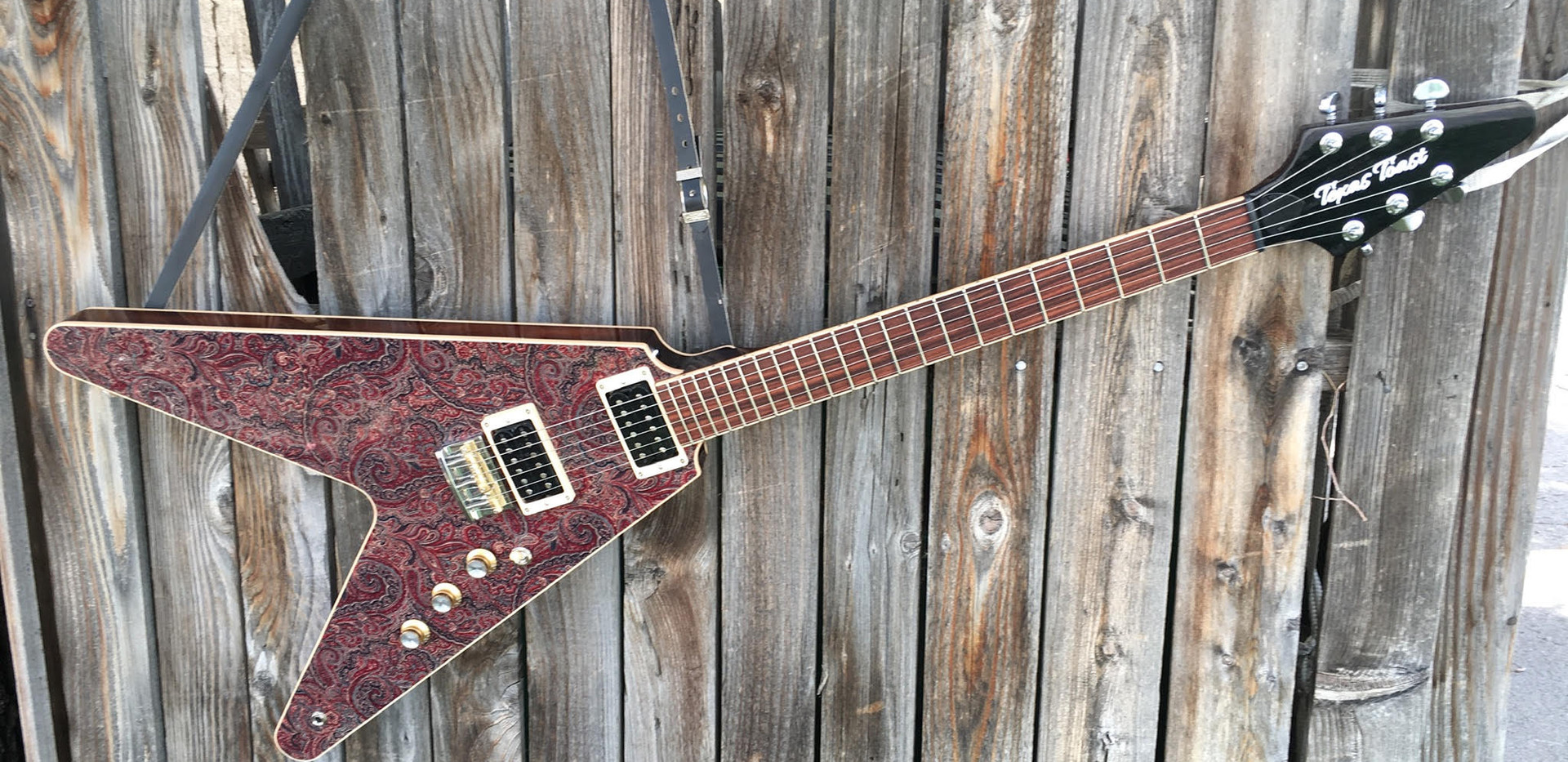 Fabric Top Flying V