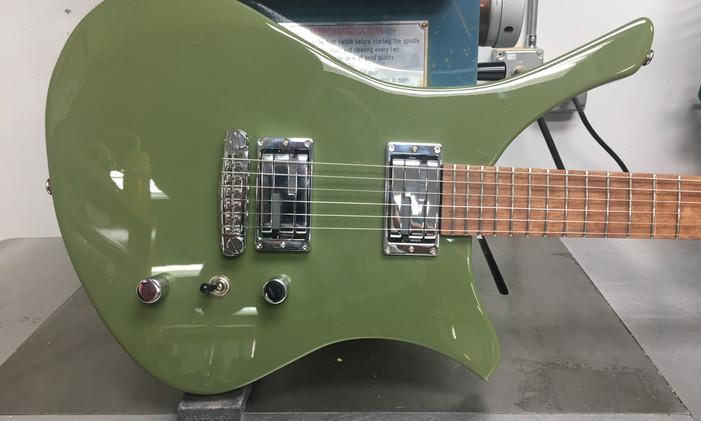 Custom Green Frenchie