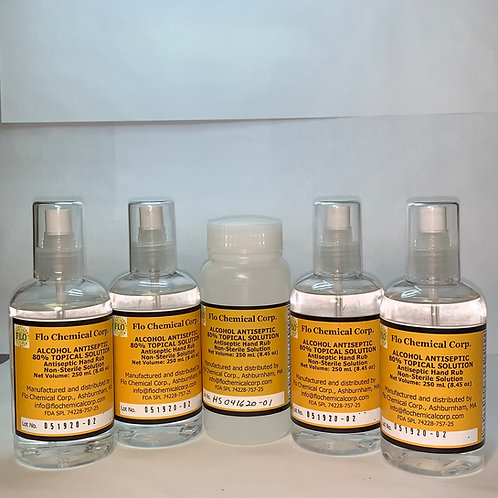 (4) 8 oz Spray Bottles, FREE 8 oz refill