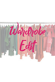 Virtual / Online Wardrobe Edit