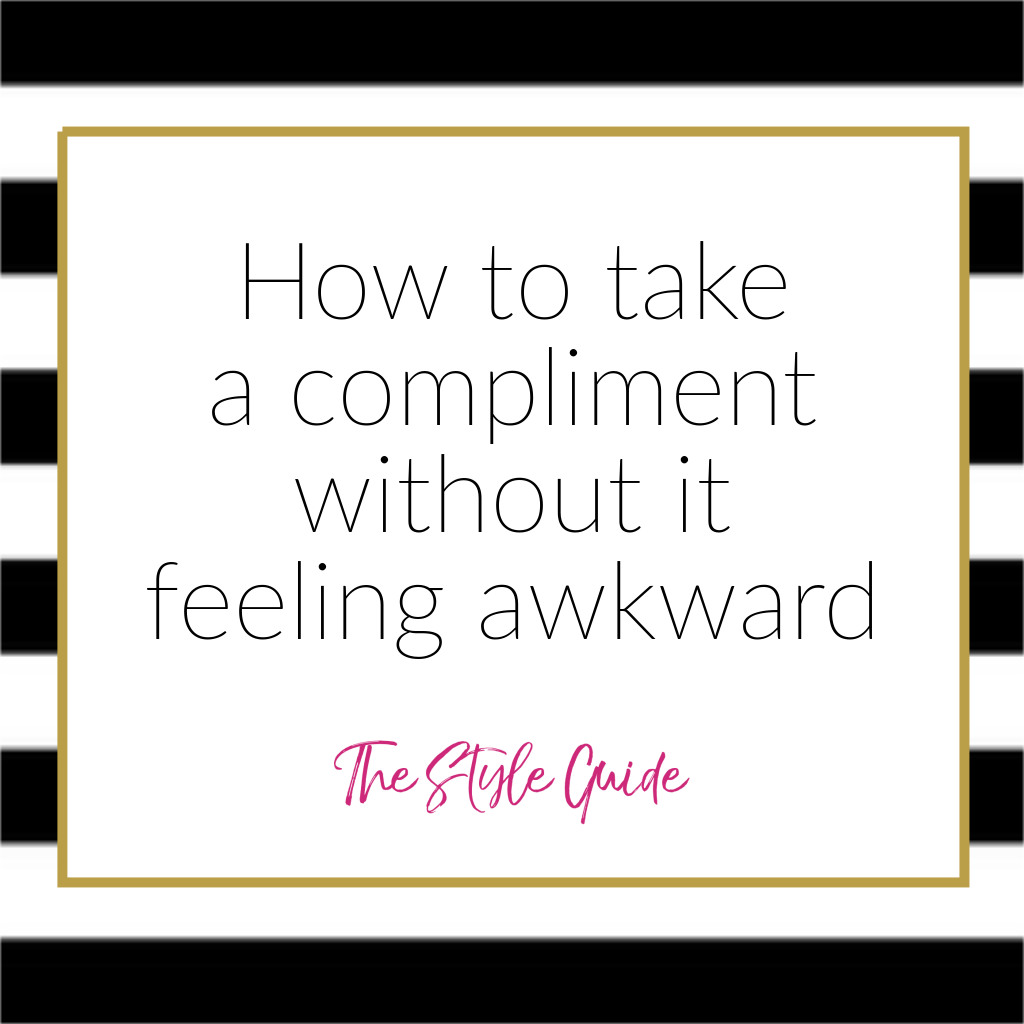 Compliments Make You Feel Awkward?
