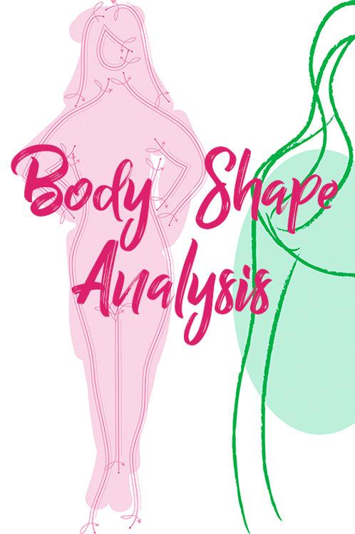 Online Body Shape Analysis
