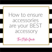 How to ensure accessories are your BEST accessory