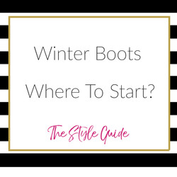 Select The Right Winter Boots