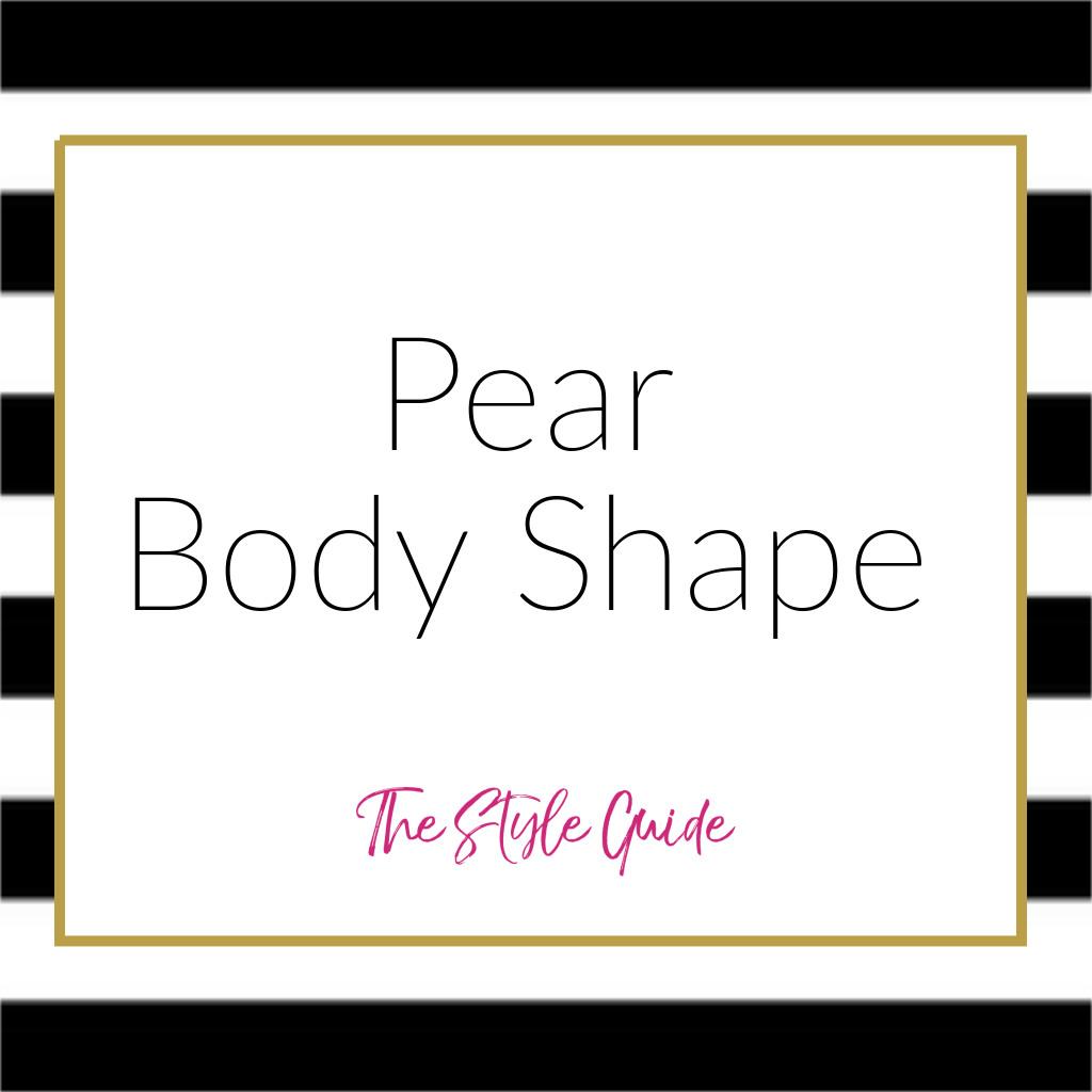Pear Body Shape