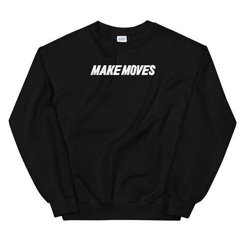 Make Moves Sweatshirt - Black