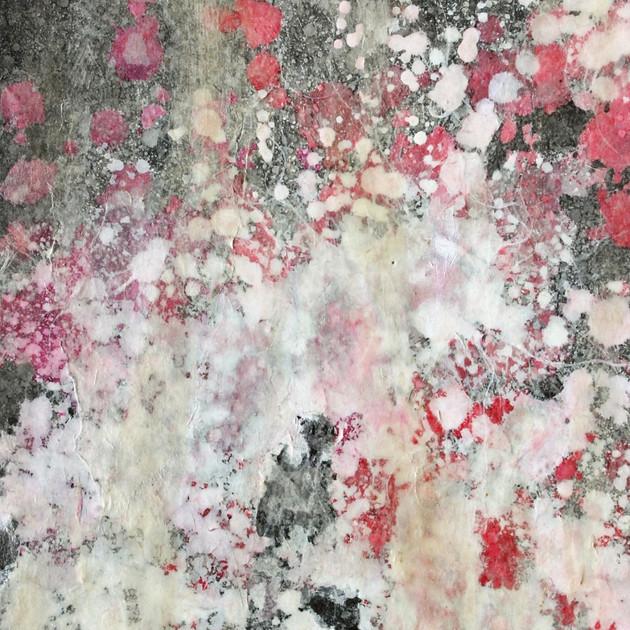 Spirituality 16-02   29.9×21.2cm Lokuta paper,Gesso,Transparent watercolor,Sumi ink,Panel 2016
