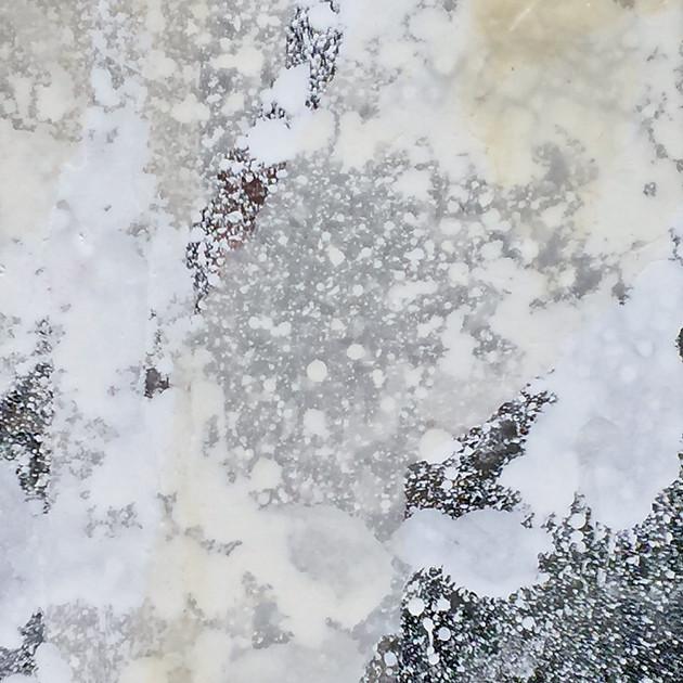 aspect of consciousness 16-02  29.8×21.2cm crylic mirror plate,Lokuta paper, Gesso,Medium 2016