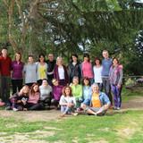 Grup de professors-participants, retir de primavera 2018 can sabé