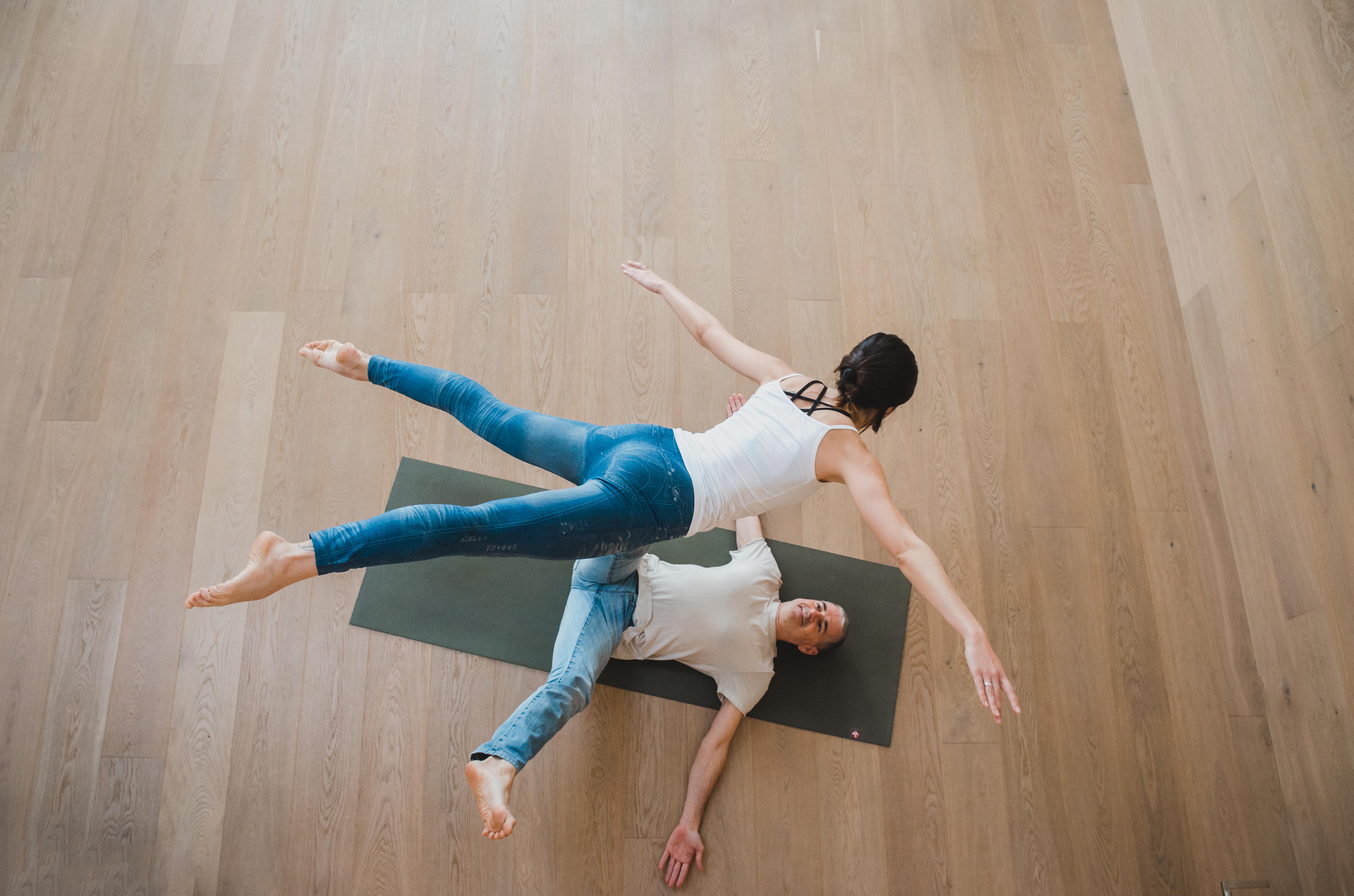 Balance yoga partner