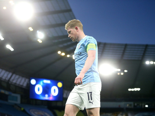 Kevin De Bruyne's six years at Manchester City so far