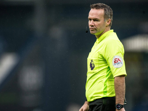 Paul Tierney appointed as referee for Manchester City's trip to Leicester