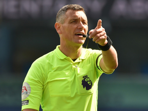 Andre Marriner appointed as referee for Manchester City vs Crystal Palace
