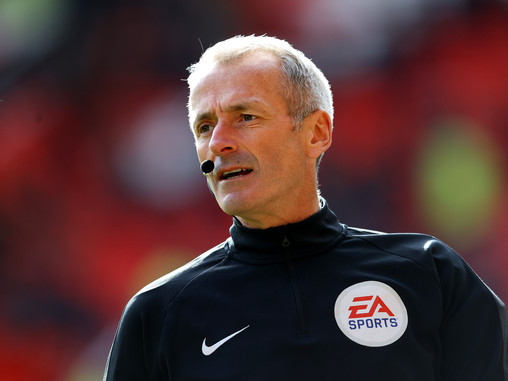 Martin Atkinson appointed referee for Manchester City vs Burnley