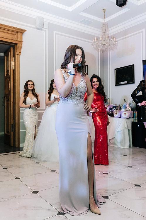 Платье нежно-лилового цвета by Faviana