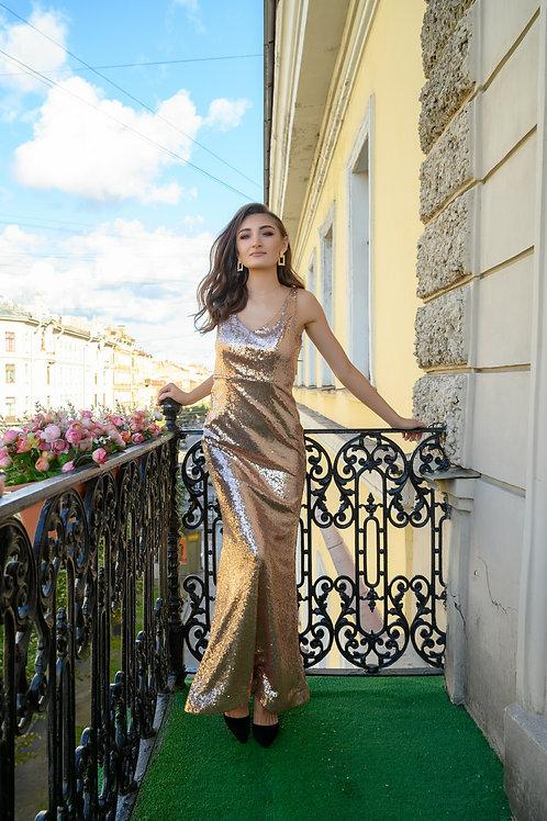 """Платье """"Rose gold"""""""