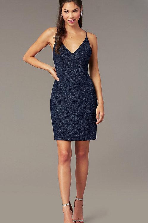 Мерцающее платье Sapphire Blue by Alyce