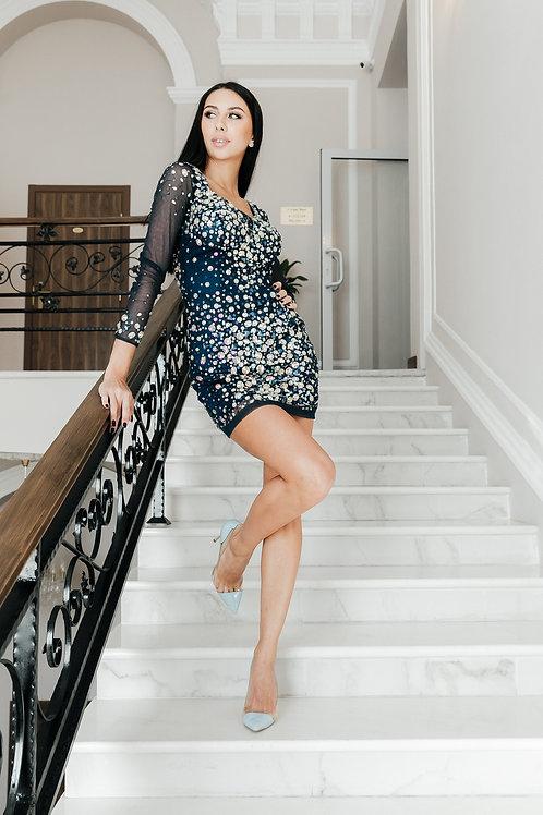 Эффектное платье Sherri Hill