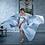 Thumbnail: Роскошное атласное платье со шлейфом