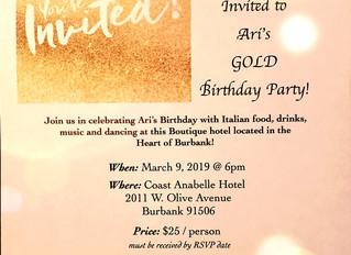 Ari's Birthday Party