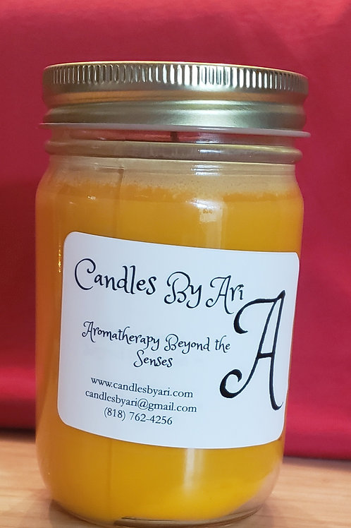 Orange Creativity Jar Candle - 12oz.