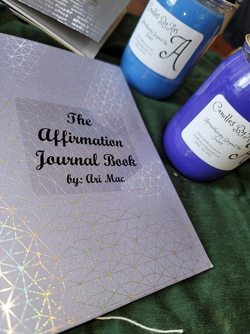 Affirmation Journal Book + Two - 12oz jar candles