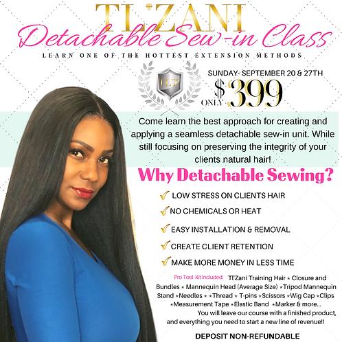 Detachable Sew-in Class Deposit