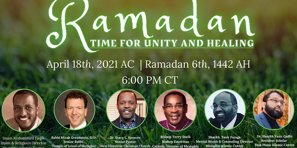The 14th Annual Interfaith Ramadan Virtual Event