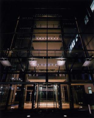 Lichterglanz für ein Glasfoyer in München  Foto: