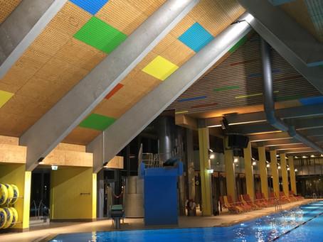 Schenkenseebad in Schwäbisch Hall - energetische Lichtsanierung